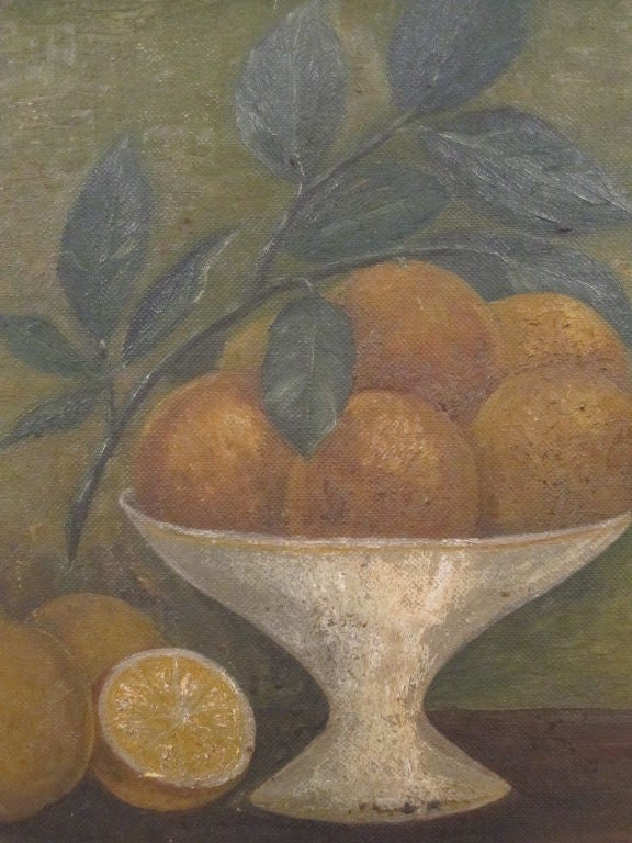 American Still Life.  Compote of Fruit. For Sale