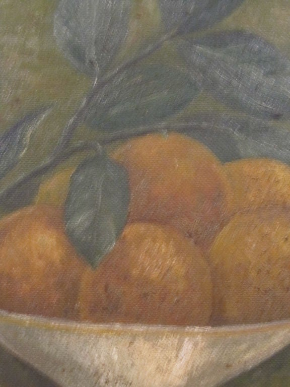 19th Century Still Life.  Compote of Fruit. For Sale