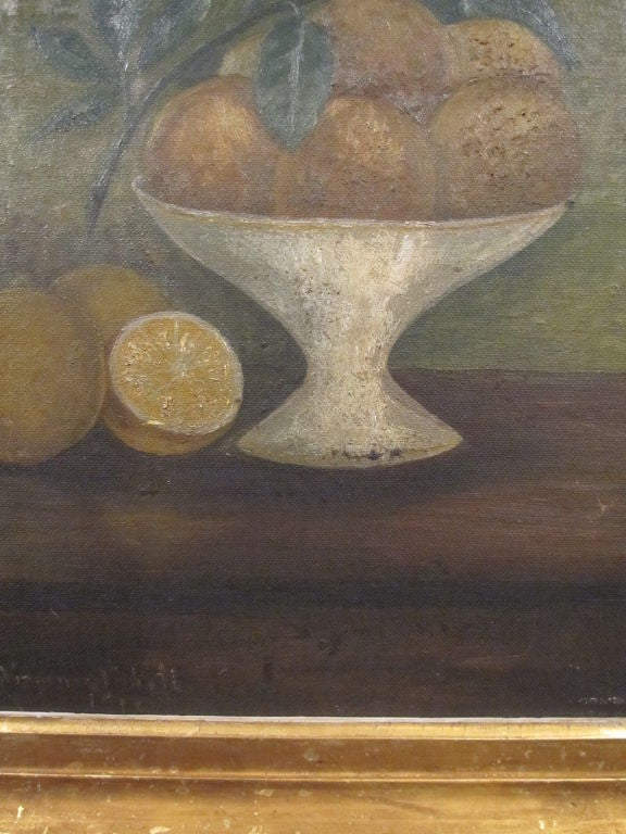 Still Life.  Compote of Fruit. For Sale 3