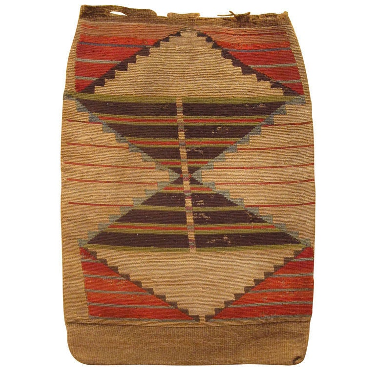Native american cornhusk bag at 1stdibs for Native american furniture designs