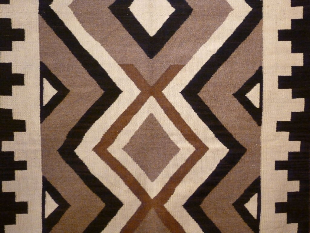 Navajo rug for sale at 1stdibs for Native american furniture designs