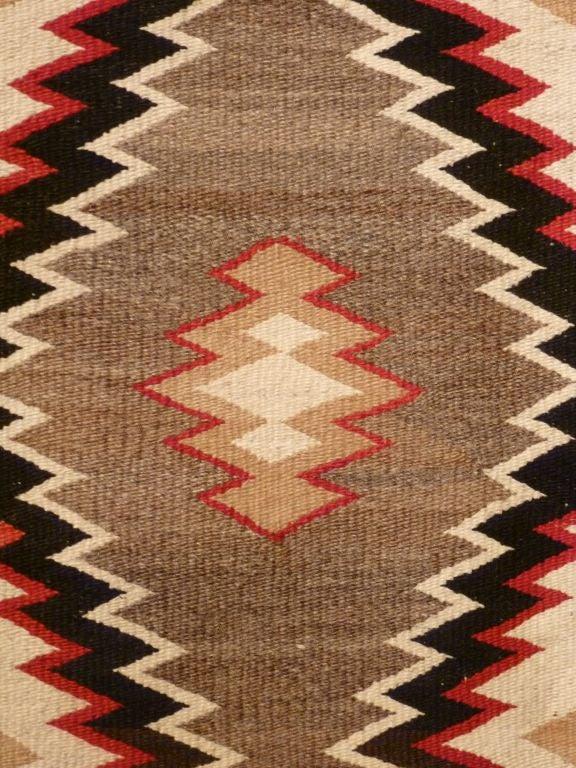 20th Century Navajo rug. For Sale