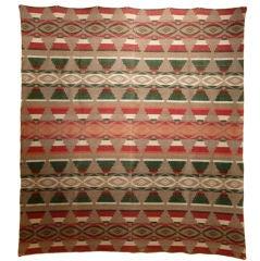 Indian Trade Blanket.