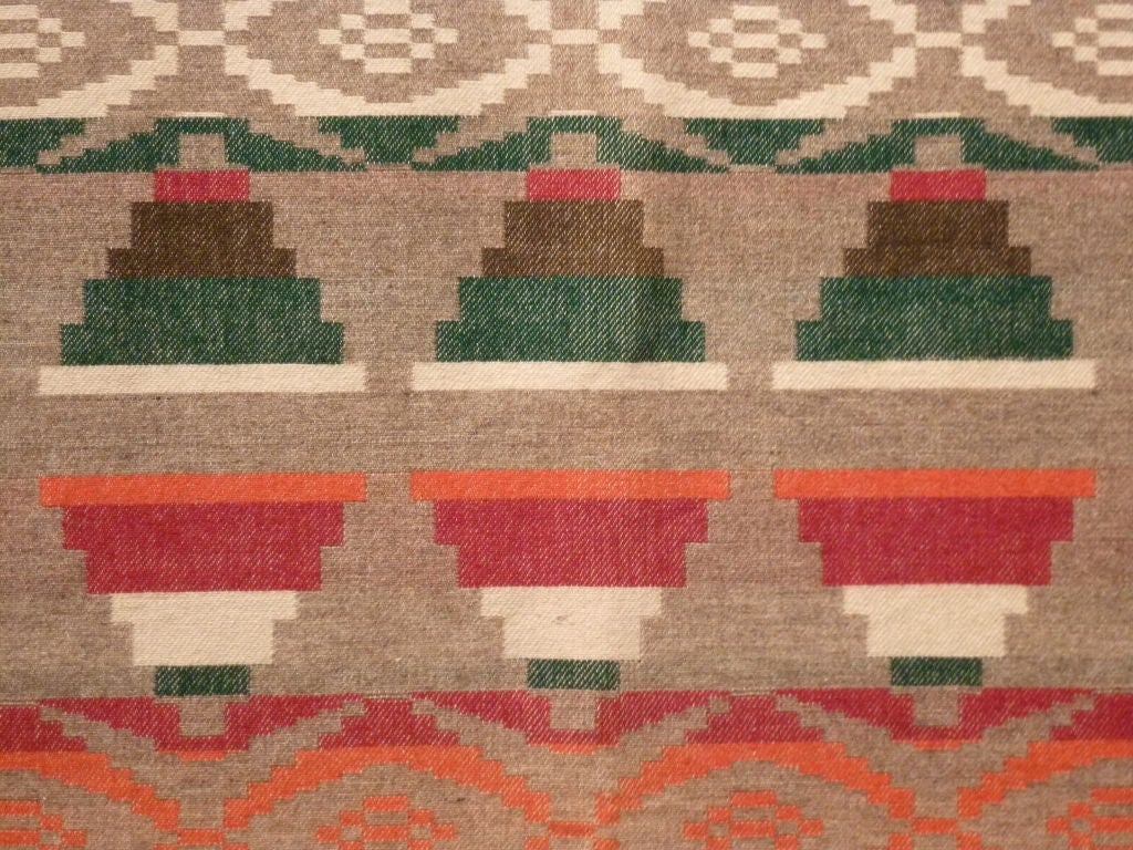 American Indian Trade Blanket. For Sale