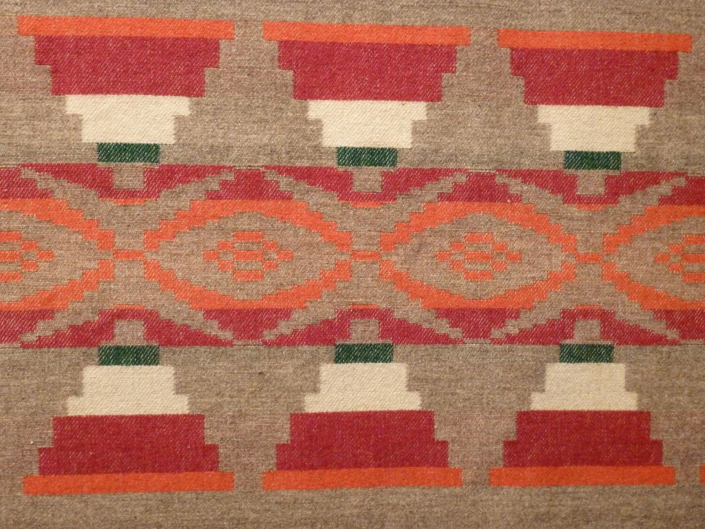 20th Century Indian Trade Blanket. For Sale