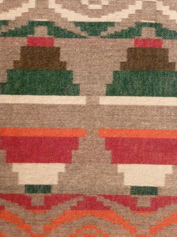 Indian Trade Blanket. For Sale 3