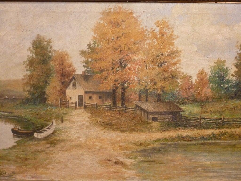 Rustic Landscape. 2