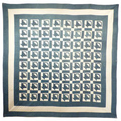 """Baskets"" Antique Quilt."
