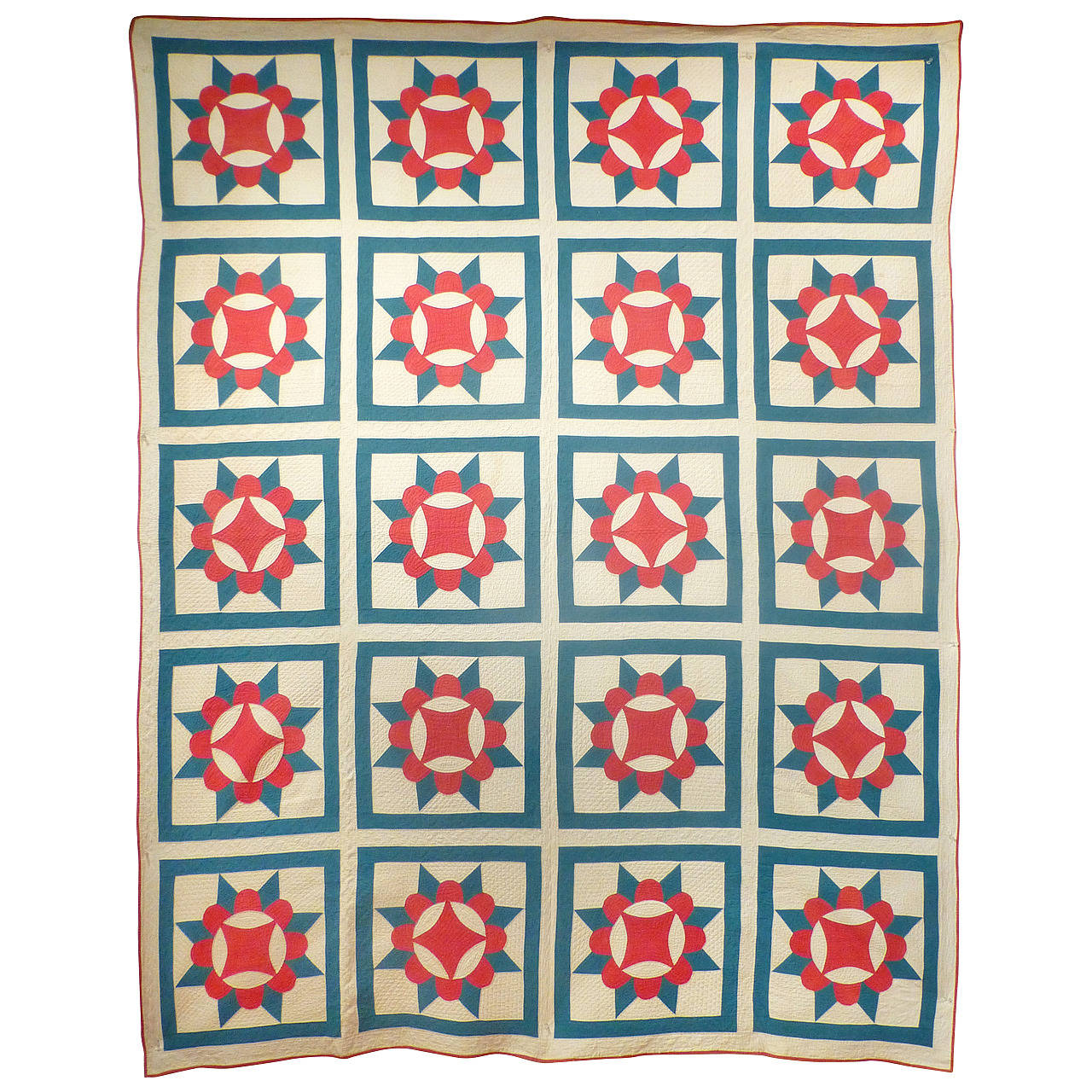 Antique Quilt Crown Of Thorns For Sale At 1stdibs