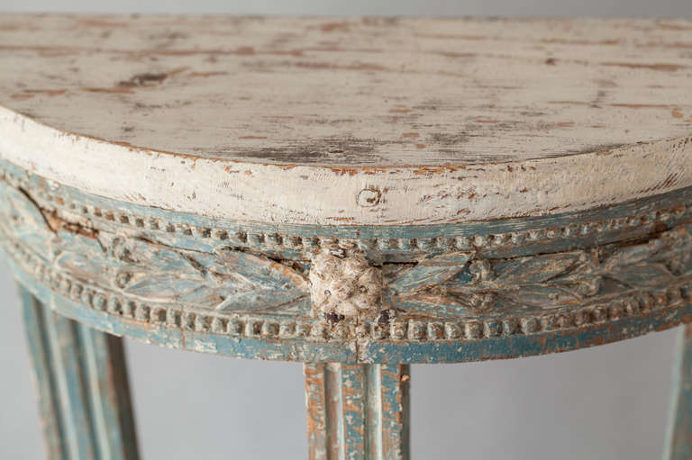 A Swedish Early Gustavian Period Console Table circa 1770 3