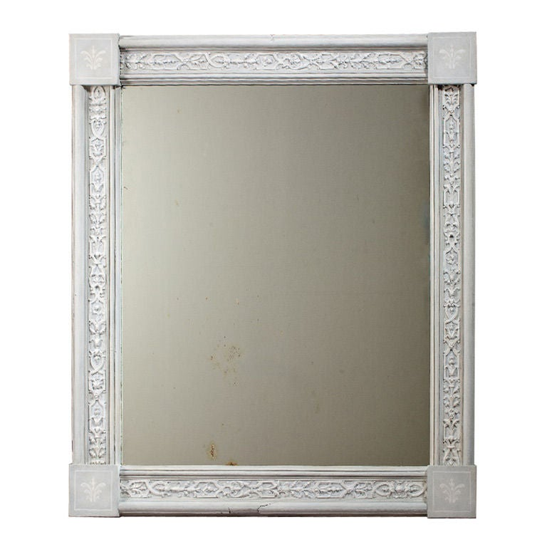 French Boiserie Frame Mirror