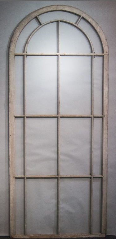 Palladian Wooden Window At 1stdibs