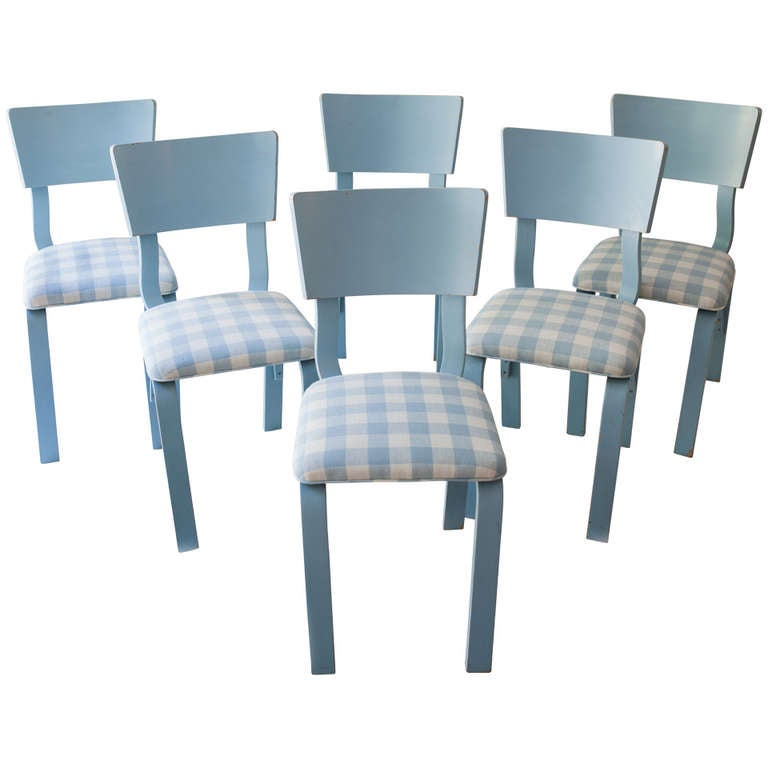 Set of six bentwood chairs from thonet industries new