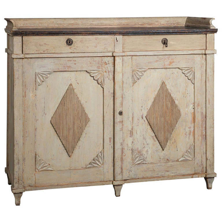 A Swedish Gustavian Period Sideboard Circa 1800 1