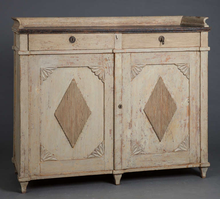 A Swedish Gustavian Period Sideboard Circa 1800 2