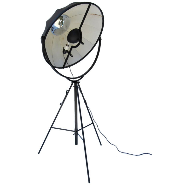 """Fortuny Atelier 63 Floor Lamp White: A Large Mariano Fortuny """"Moda Floor Lamp"""" At 1stdibs"""