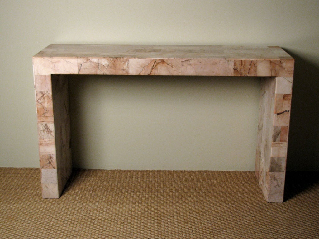 Marble Console Table : Marble Console Table at 1stdibs