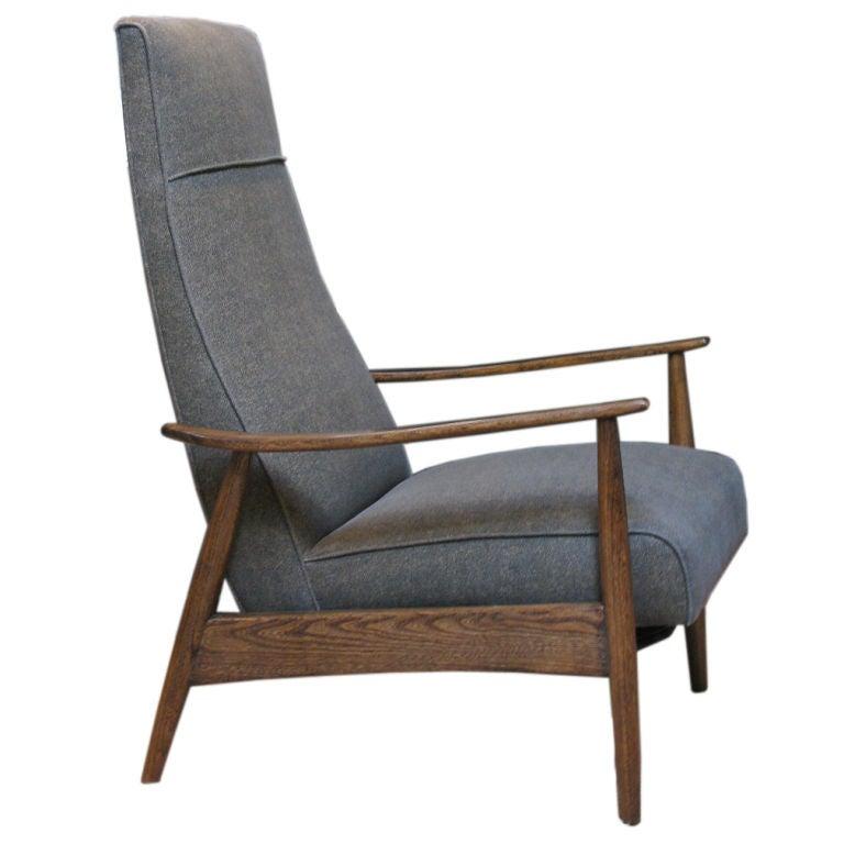 A Milo Baughman Reclining Lounge Chair at 1stdibs