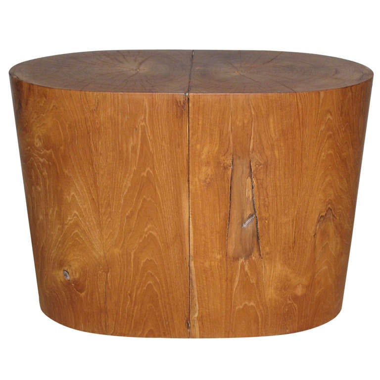 A Teak Table by Ironies at 1stdibs