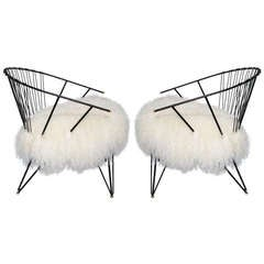 A Pair of French Modernist Chairs
