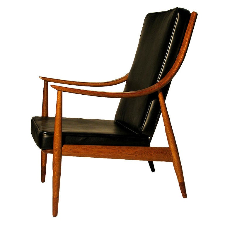 A Lounge Chair By Peter Hvidt And Orla M 248 Lgaard Nielsen At 1stdibs
