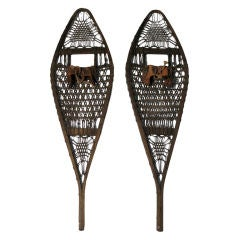 "A Pair of Antique ""The Tubbs"" Snowshoes"