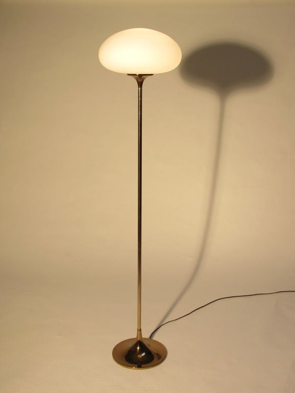 A Laurel Mushroom Floor Lamp At 1stdibs