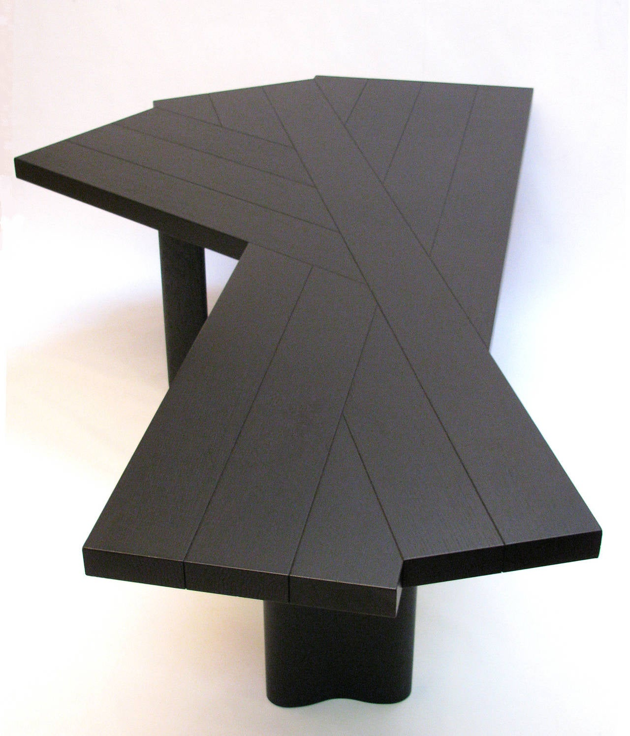 charlotte perriand stained oak table at 1stdibs. Black Bedroom Furniture Sets. Home Design Ideas