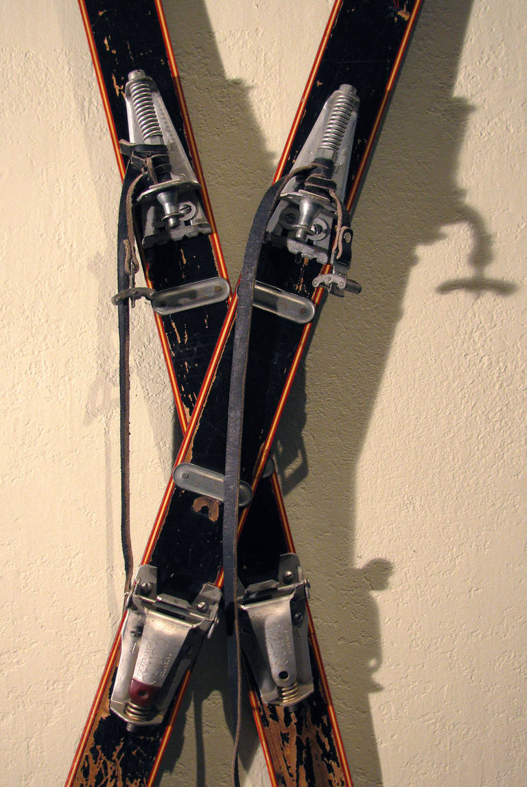 Antique Olympic Skis 5