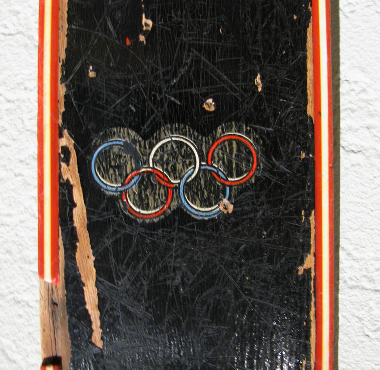 Antique Olympic Skis 6