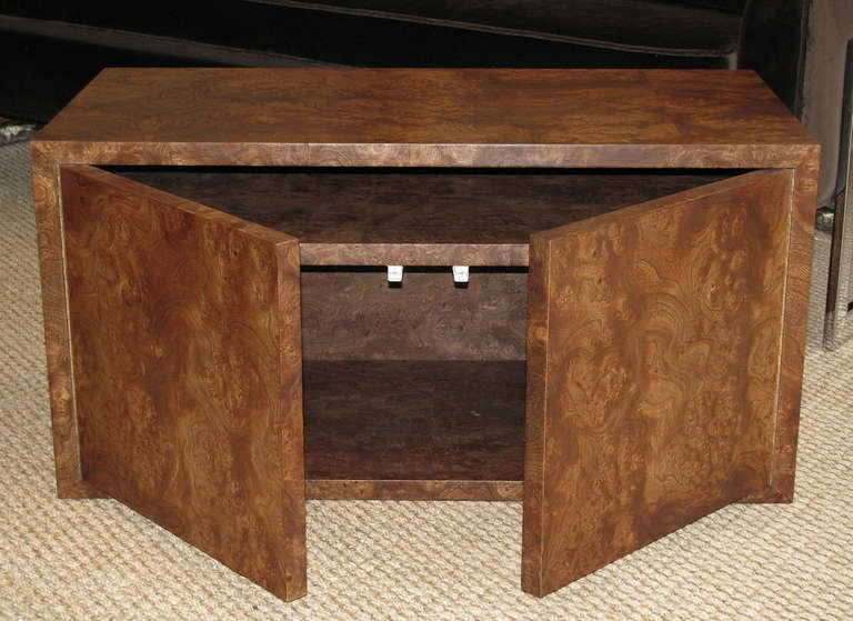 Milo Baughman Coffee Table Storage Cube At 1stdibs