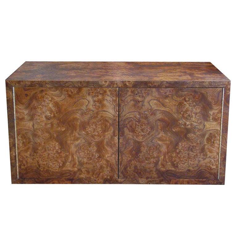 Milo Baughman Coffee Table Storage Cube At 1stdibs
