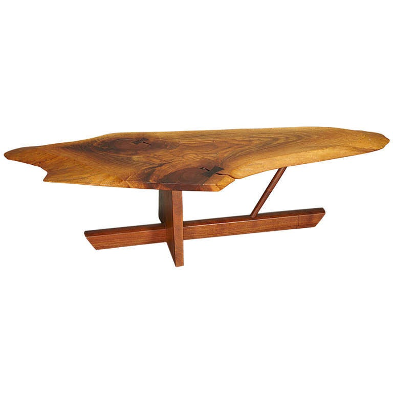 Minguren Ii Coffee Table By George Nakashima 1989 Signed At 1stdibs