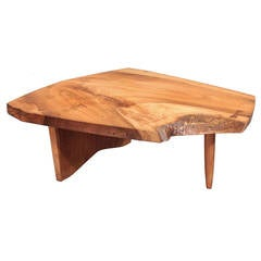 Conoid Coffee Table by George Nakashima, 1973