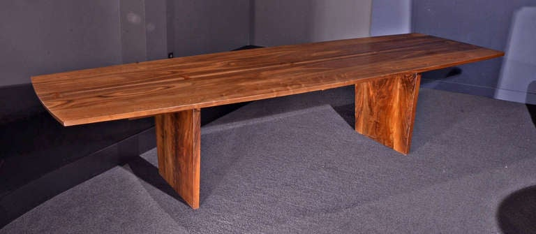 10 5 ft minguren iii table by george nakashima at 1stdibs for 5 foot dining room table