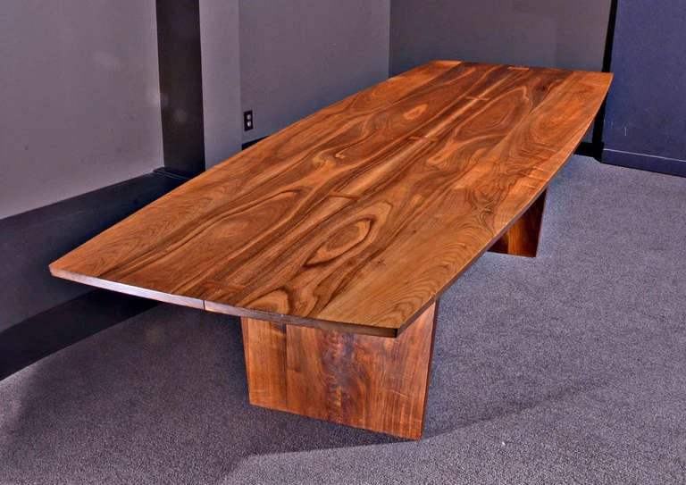 10 5 ft minguren iii table by george nakashima at 1stdibs for 5ft dining room table