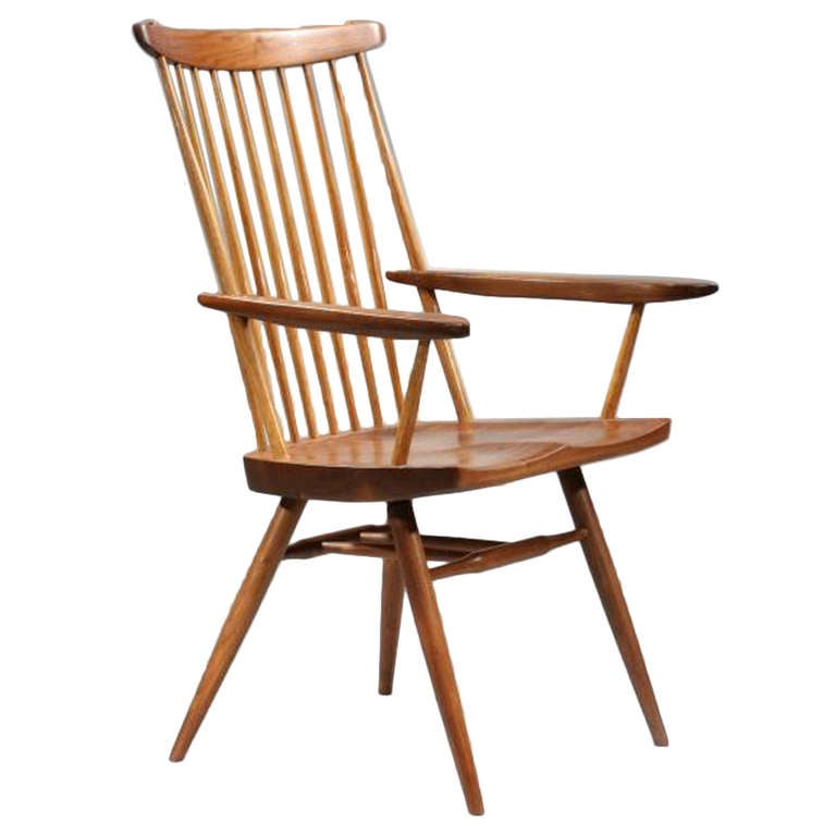 New Chairs With Arms By George Nakashima Aka Host Chair