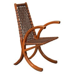 Wagon Wheel Chair by Wharton Esherick