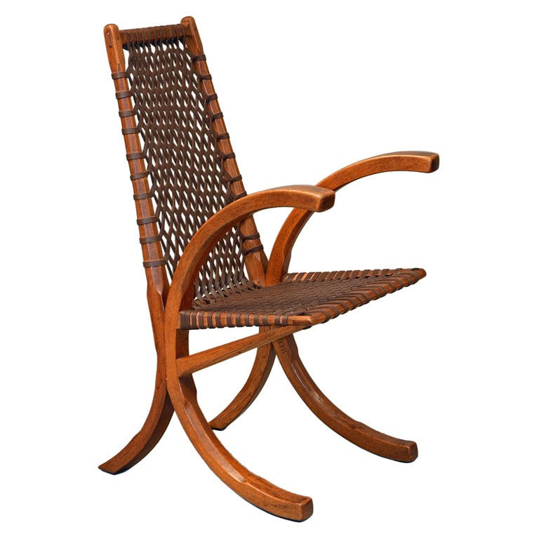 Wagon Wheel Chair By Wharton Esherick At 1stdibs