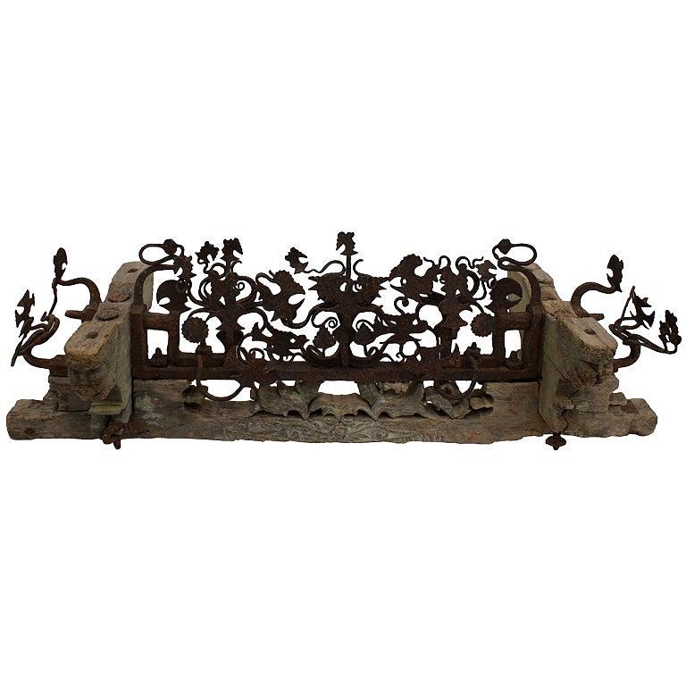 18th Century Neapolitan Wedding Axle Cart