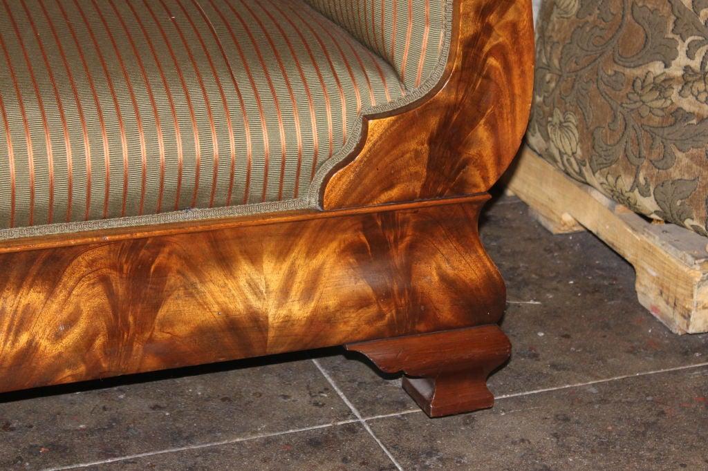 19th C. American Empire Sofa 1