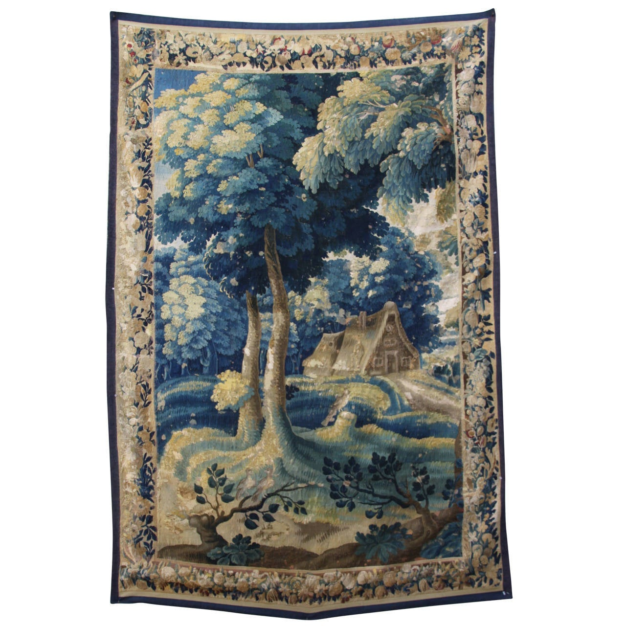 18th Century Verdure Flemish Tapestry