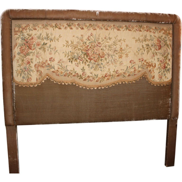vintage upholstered headboard 2