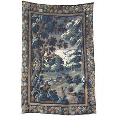 18th Century Handwoven Flemish Tapestry