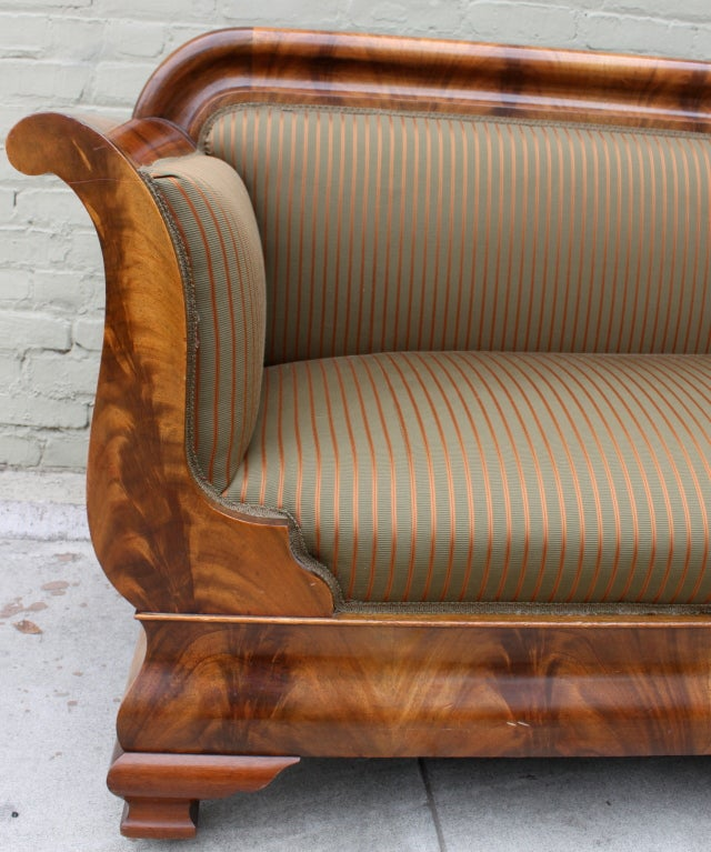19th c american empire sofa at 1stdibs for Sofa 70er stil