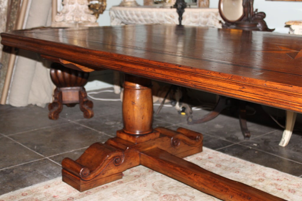 Dining Table: Star Furniture Dining Table