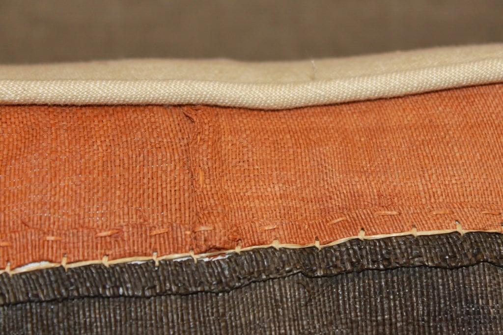 Pair of Vintage Kuba Cloth Pillows 1