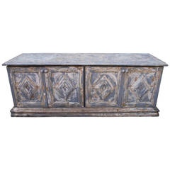 19th Century French Painted Sideboard