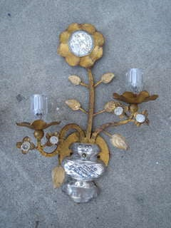 Pair of Bacchus Style Sconces