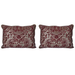 Pair of Caravaggio Fortuny Pillows